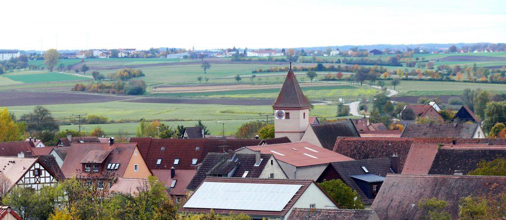 Die Schweinsdorfer Kirche zu sehehn